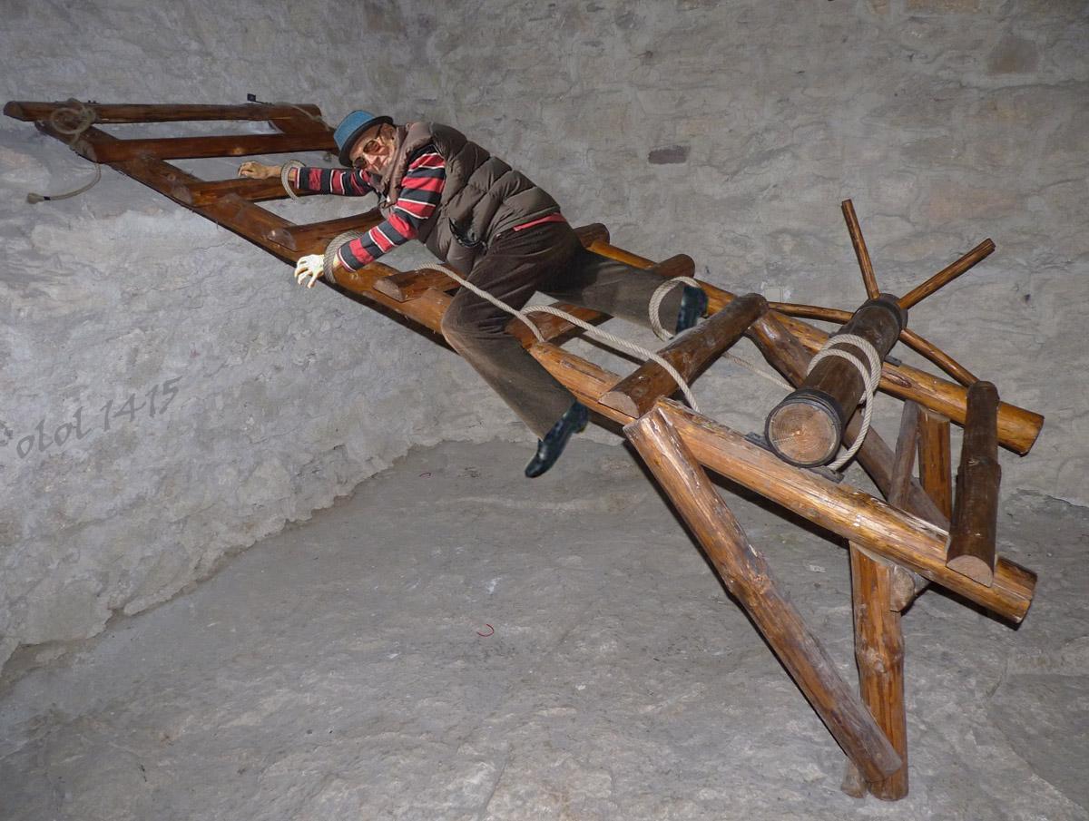 Tortured on rack xxx image