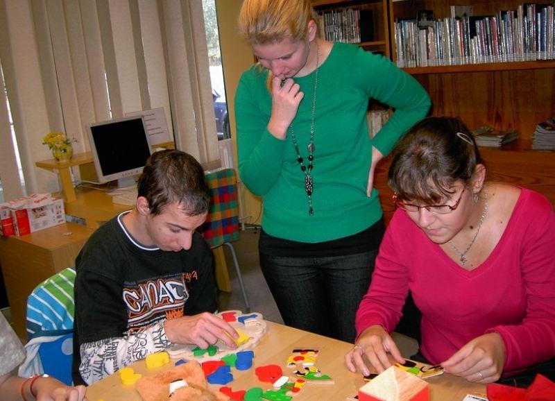 Lekotéka pomáhá rozvíjet nadání handicapovaných dětí. Foto: Knihovna Jiřího Mahena.