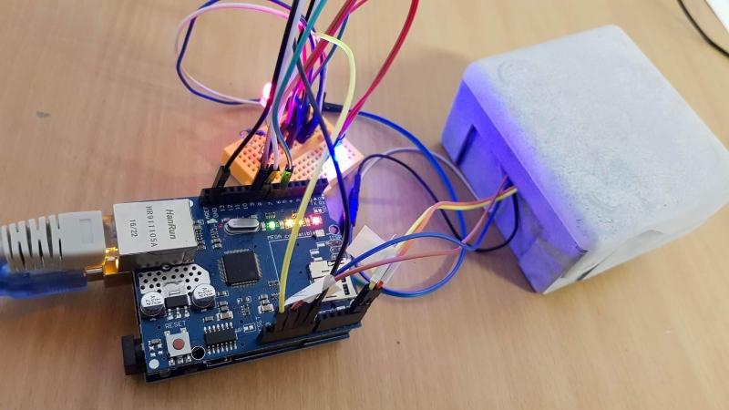 Meteostanica s Arduinom a Ethernet Shieldom - HTTP