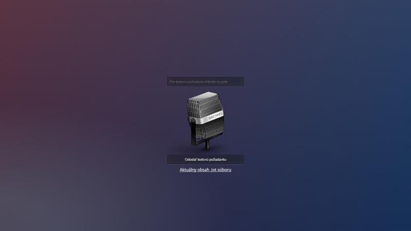 Ovládanie hlasom pre Arduino/NodeMCU/ESP32/Raspberry/Orange Pi ... projekty