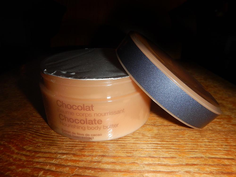 čokoládová kosmetika