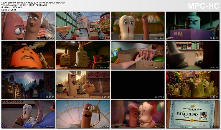 Sausage Party / Buchty a klobásy (2016)