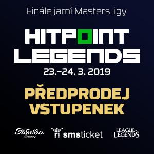 Finále Masters ligy 23.-24. března Fabrika Svitavy - Předprodej vstupenek
